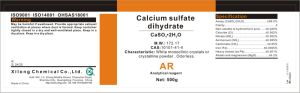 CAS No. 10101-41-4 Calcium Sulfate -Caso4 (2H2O) pictures & photos