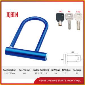Blue Color Durable Safety U Shape Lock pictures & photos