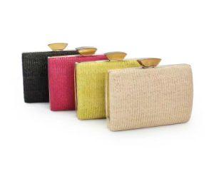 Four Color Woven Clutch Bag fashion Bag pictures & photos