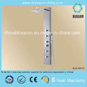 High Quality Massage Stainless Steel Shower Panel (BLS-3857G) pictures & photos