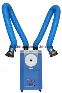Air Pulse Jet Cleaning Welding Fume Extractor with Two Suction Arms pictures & photos