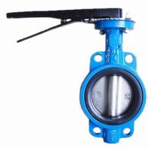 Cast Iron Butterfly Valve Level pictures & photos