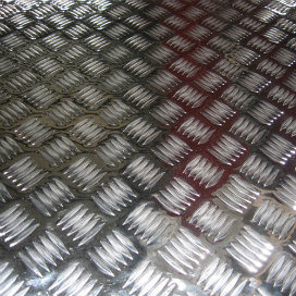 Aluminium/ Aluminum 5 Bar Checkered Sheet/Plate 5052 pictures & photos