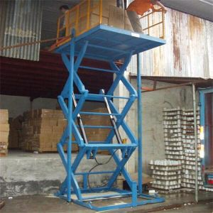 Scissor Freight Lift Hoist Platform pictures & photos