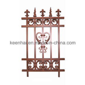 Villa Decorative Vintage Metal Cast Aluminum Garden Fence Panel pictures & photos