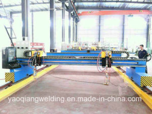 CNC Cutting Machine for Web and Flange of H Beam pictures & photos