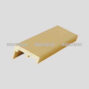 Anti-Mildew Wood Plastic Composite WPC 5.0mm Architrave (MT-6035A) pictures & photos