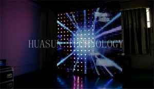 Mesh Foldable Display for Light Background & Building Cover pictures & photos