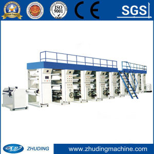 Computer Combination Intaglio Rotogravure Printing Machine for Cellphane, BOPP, Pet, PVC, PE, Aluminum Foil and Web pictures & photos