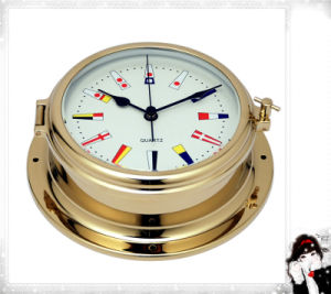 Gl195 Signal Flag Dial 180mm Nautical Quartz Clock pictures & photos
