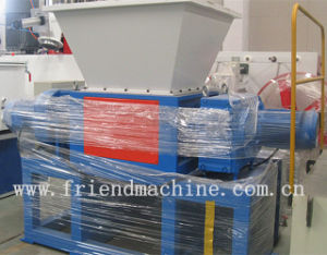 Double Shaft Plastic Shredder Machine and Plastic Crusher Recycling Machine pictures & photos