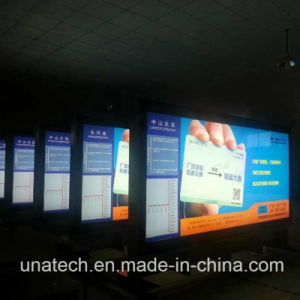 Outdoor Channel Indoor Metro Subway Banner Fabric Advertising Aluminium LED Box Structure pictures & photos