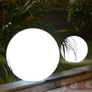 "12"" LED Ball Table Lamps with Remote Control and Rechargeable pictures & photos"