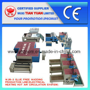 Wadding Production Line, Polyester Fiber Production Line pictures & photos