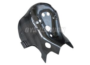 Carbon Fiber Exhaust Cover for Ducati 1199 pictures & photos