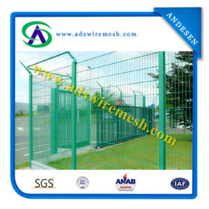 High Security Garden Fencing Panel /PVC Coated Welded Wire Mesh Panels pictures & photos