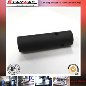 Custom CNC Machining Part with Black Powder Coating pictures & photos
