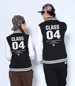 Fashion Outwear Unisex Slim Fit Hemp Cotton Baseball Jacket