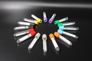 Non-Vacuum/ Vacuum Blood Collection Tube, Glass/ Plastic with CE, ISO13485 pictures & photos