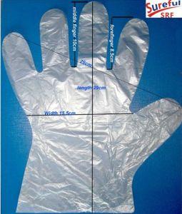 HDPE Disposable Glove (0.4, 0.5, 0.6grams) pictures & photos