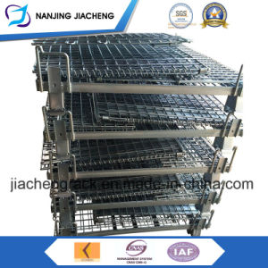 Heavy Duty Logistics Steel Wire Mesh Cage for Sales pictures & photos