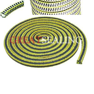 Graphited PTFE (GFO) & Aramid in Zebra Braided Packing