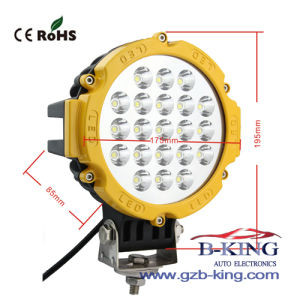 Hot Selling 4620lm 63W 21PCS*3W CREE LED Work Light pictures & photos