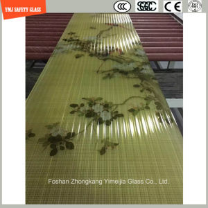 4-19mm Safe Construction Glass, Sand Blasting, Hot Melting Patterned Glass for Hotel Door/Window/Shower/Partition/Fence with SGCC/Ce&CCC&ISO Certificate pictures & photos