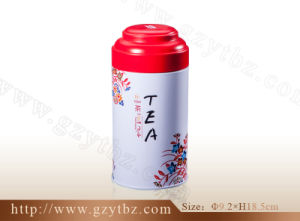 High Quality Round Tea Tin Box (YT-TRO 93*185)