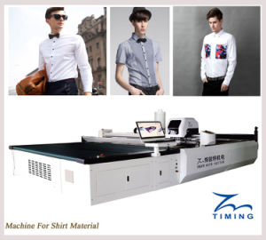 Tmcc High Speed Computerized Cloth/Fabric Cutting Machine Automatic Cutting Facility for Carmat Car/Vibrating Knife Cutter pictures & photos