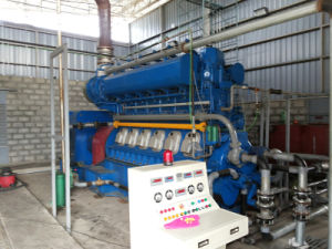 1MW Waste Tyre Oil Generator Set for Power Station pictures & photos