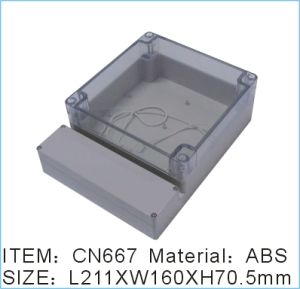 ABS and PC Waterproof IP65 Electric Meter Box pictures & photos