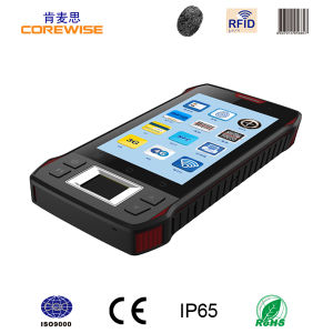 Handheld Android Mobile Phone with GPS, Fingerprint, Hf RFID pictures & photos