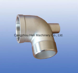 Stainless Steel Casting Pipe Fittings Equal Elbow pictures & photos