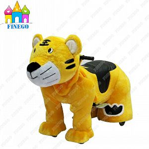 Zippy Stuffed Tiger Electric Riding Animal Toy Rides Car for Sale pictures & photos