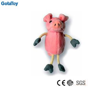 Factory Custom Plush Pig Finger Puppet Toy pictures & photos