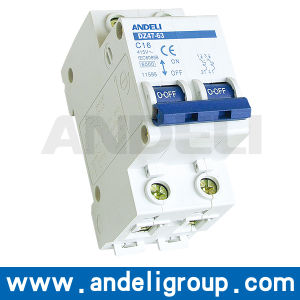 2p Miniature Circuit Breaker Price (DZ47-63) pictures & photos