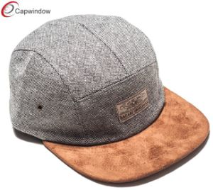 Gray Camping Hat Outdoor Cap with Metal Eyelets (07035) pictures & photos