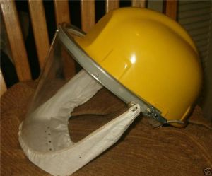 Safety Headgear with Full Face Flip-up Visor Mask Safety Products pictures & photos