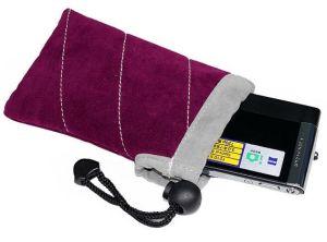 Pulling Enclose Fabric Camera Case (B011EC)