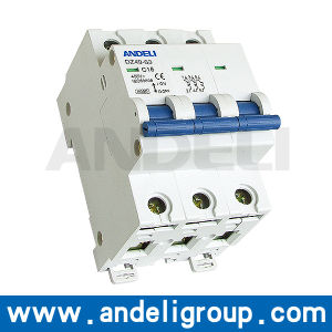 3p Circuit Breaker DC MCB Switch (DZ49-63) pictures & photos