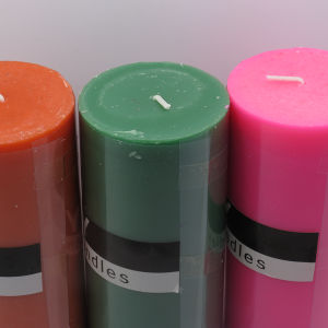 Wholesale 3X6 Colorful Pillar Candle for Wedding Decoration pictures & photos