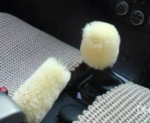 Genuine Australian Sheepskin Handbrake Cover for Auto Car pictures & photos