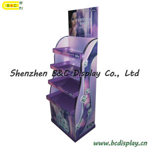 Cosmetics Demonstratio / Cardboard Display Stand / Display Shelf (B&C-A024) pictures & photos