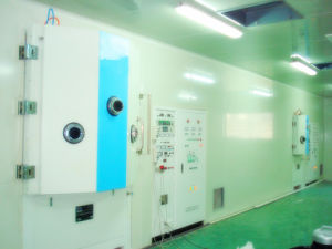 Automatic Box Type Vacuum Coating Machine with High Quality
