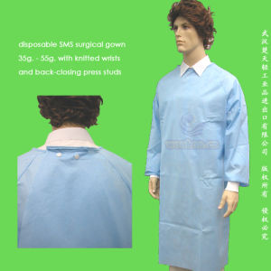 Disposable SMS Surgeon Gown pictures & photos
