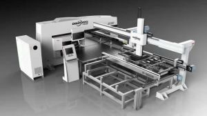 Es300 Electro Servo Turret Punch Press for Flexible Sheet Metal Processing pictures & photos