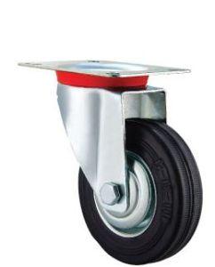 Heavy Duty Solid Rubber Wheel Industrial Caster