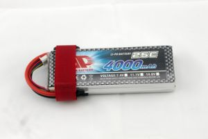 4000mAh 25c 11.1V R/C Plane Helicopter Battery pictures & photos