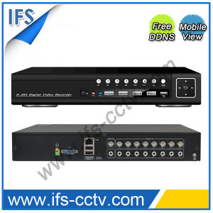 H. 264 Security Network DVR Support 3G Mobile View (ISR-5008HE) pictures & photos